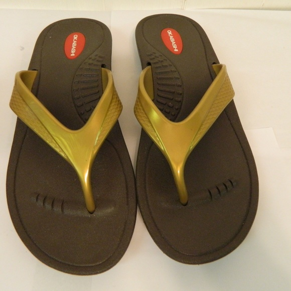 ec3ed493c62ef Okabashi Marina Feel Good Sandals Flip Flops ML